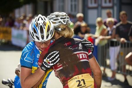 Alexandra Engen sætter slutspurt ind og ender på en femteplads (foto: Bo Skakke)