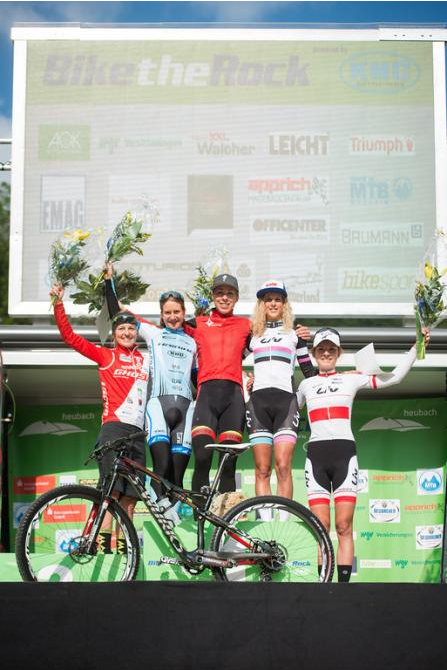 On top of a strong podium